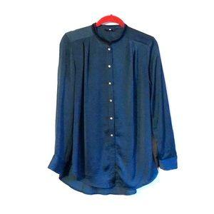 Silky deep teal H&M shirt size M